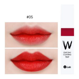 W.Lab Henna Tint 4.8g #05.FAMOUS: Vivid, pop-up Real-Red Color