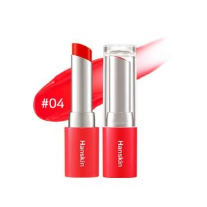 Hanskin Glam Moolon Tinted Lip Balm 4.5g #04 Just Coral