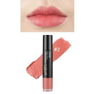 Ottie Magic Grace Velvet Lip Mousse 7ml #02 Pure Marsala