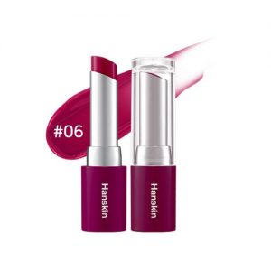 Hanskin Glam Moolon Tinted Lip Balm 4.5g #06 Melting Plum