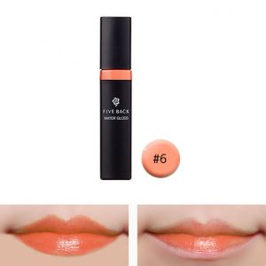 Five Back Water Lip Gloss 7.5g #6 Mandarine Orange