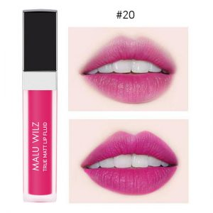 Malu Wilz True Matte Lip Fluid 6ml #20 Vivid Poping