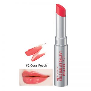 K-Palette 1 Day Tattoo Lasting Lip Tint Stick 2.5g #2 Coral Peach