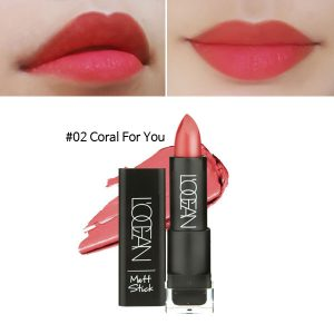 L'OCEAN Matt Stick 3.3g #02 Coral For You