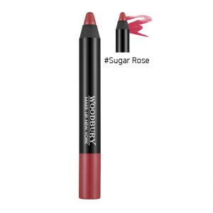 Woodbury Perfect Ultra HD Lip Pencil 2.4g Velvet Matte #Sugar Rose