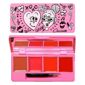 CHOCOMOO My Heart Lip Palette 4 Colors Matte & Moist