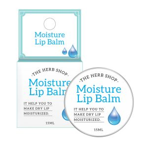 The Herb Shop Moisture Lip Balm 15ml