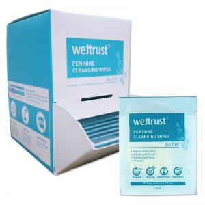 Wettrust Tea Tree Feminine Cleansing Wipes