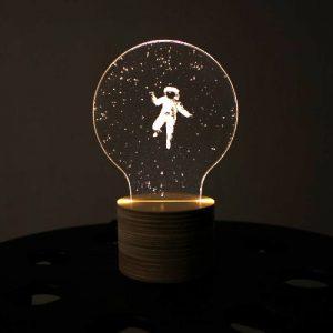 Astronaut Mood Sleeping Table Interior Light Lamp