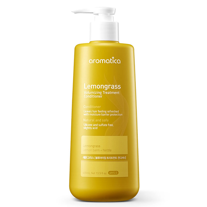 Aromatica Lemongrass Volume Care Conditioner 400ml