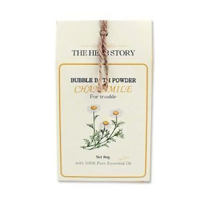 THE HERB STORY Aroma Bubble Bath Powder 80g Chamomile