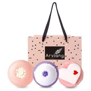 ARVIANG Couple Gift Natural Bubble Bath SET