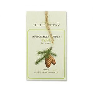 THE HERB STORY Aroma Bubble Bath Powder 80g Pine