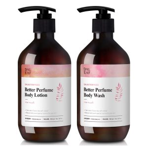 DALEAF Galactomyces Better Perfume Body Lotion Wash Rose Musk