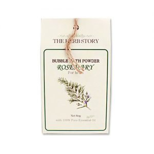 THE HERB STORY Aroma Bubble Bath Powder 80g Rosemary