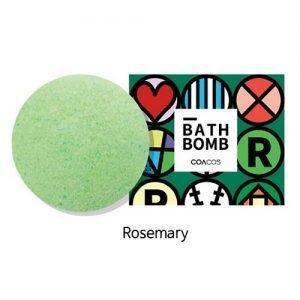 COACOS Handmade Bubble Bath Bomb 140g Rosemary