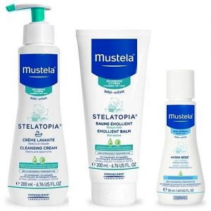 Mustela Stelatopia SET Cleansing Emollient Body Lotion