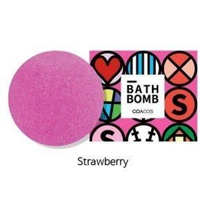 COACOS Handmade Bubble Bath Bomb 140g Strawberry
