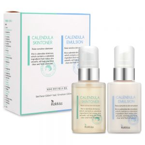 Rokkiss Calendula Skin Toner Emulsion SET