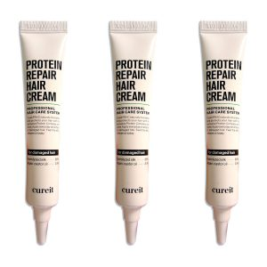 Cureit Protein Repair Hair Cream 20ml x 3pcs