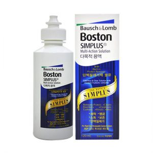 Bausch & Lomb Boston Simplus Multi Action Solution 120ml