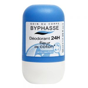 BYPHASSE Roll On Deodorant 50ml 24h Cotton Flower