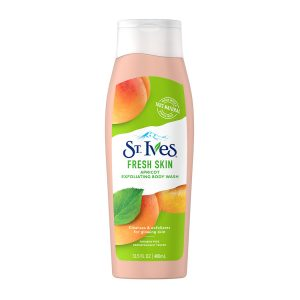 St. Ives Apricot Exfoliating Body Wash 400ml