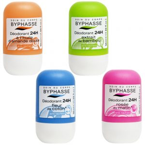 BYPHASSE Roll On Deodorant 50ml 24h