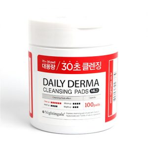 NIGHTINGALE Daily Derma Cleansing Mild 100 Pads