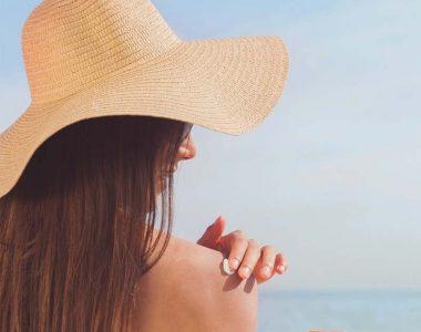 Precautions when tanning outdoor