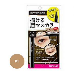 KISS ME Heavy Rotation Color Line Comb Eyebrow Mascara