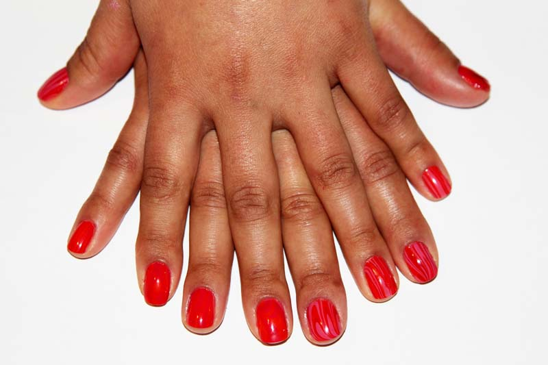 The last way to take care of your nails is to remove cuticles