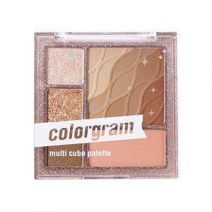 Colorgram Multi Cube Palette #01 Basic Brown