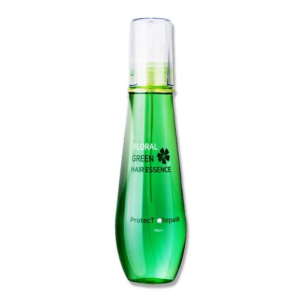 HSCOSMETIC Floral Green Hair Essence 140ml for Fine Hair