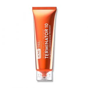Acne Free Terminator 10% Benzoyl Peroxide Acne Treatment 28g