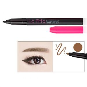 La Pitta 5-9 Days Semipermanent Tattoo Eyebrow 0.6g #Natural-Brown
