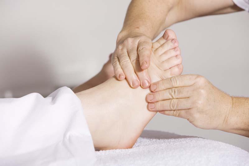The secret of beautiful feet